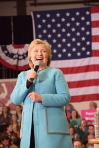 Hillary Clinton, GOTV event, Alverine High School, 08-02-2016, Hudson